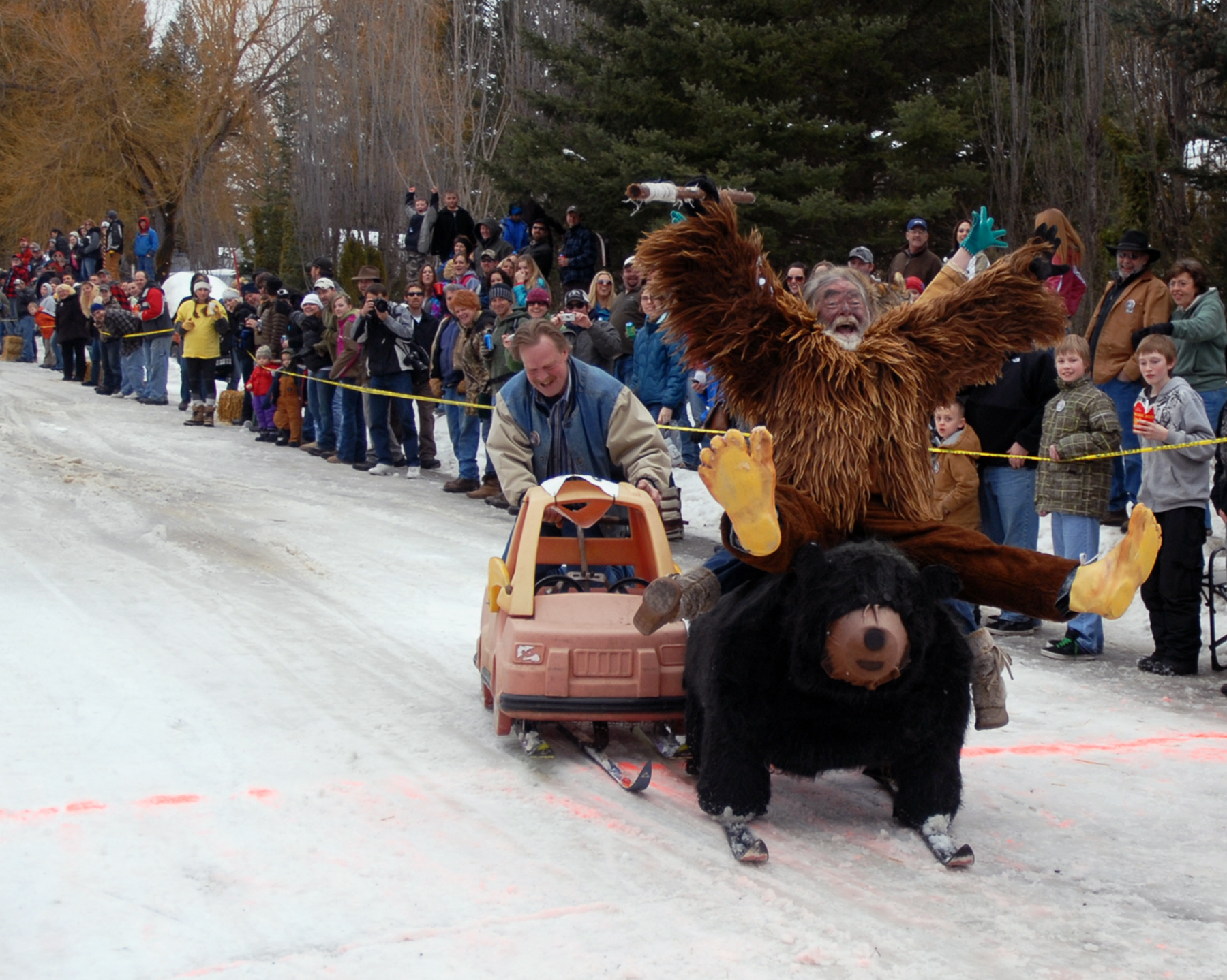 This Weekend In Northwest Montana Was The 33rd Annual Cabin Fever Days What A Hoot Cabin Fever Days Is A Three Day Cele Tion That Gets Everyone Outside