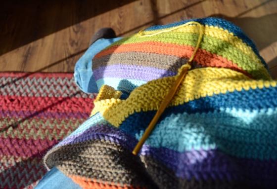 J blanket halfway