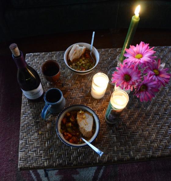 Delightful dinner