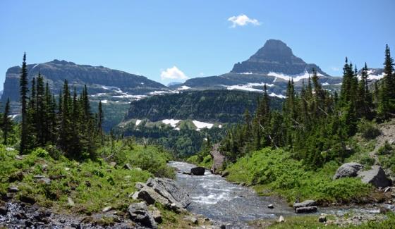 Lunch creek vista