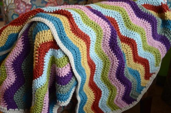 Ripple blanket complete
